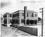 United States Post Office under construction, Douglas Avenue, Las Vegas, New Mexico