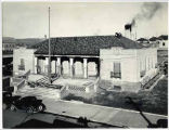 Post Office building under construction, Gallup, New Mexico
