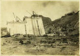 Construction of Elephant Butte Dam in Southern New Mexico