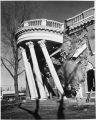 Demolition of Governor's Mansion, Santa Fe, New Mexico