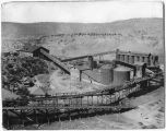 Mining complex at Dawson, New Mexico
