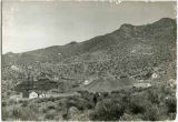 View of Stephenson Bennett Mine in the Organ Mountains, San Augustine, New Mexico
