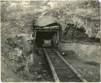 Entrance to coal mine, Raton-Yankee area, New Mexico