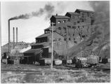 Anthracite coal breaker and power house buildings, Madrid, New Mexico