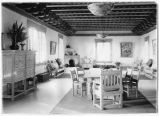 Interior, Women's Board Room, Fine Arts Museum, Santa Fe, New Mexico