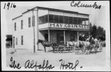 The Alfalfa Hotel, Columbus, New Mexico