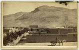 View of Fort Selden, New Mexico