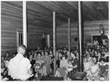 Community singing, Pie Town, New Mexico