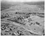 Aerial view of Saint Catherine Indian School, Santa Fe, New Mexico
