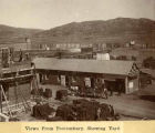 View of the yard, New Mexico State Penitentiary, Santa Fe, New Mexico