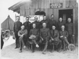 Regimental Headquarters, Officers of 1st New Mexico Infantry [National Guard], Columbus, New Mexico