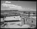 """Over-all view of Zuni Indian Pueblo. June 1939"""