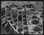 """Bird's eye view of Chaco Culture National Historic Park"""