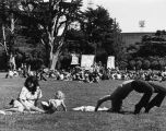 People at community events, Golden Gate Park, San Francisco, California