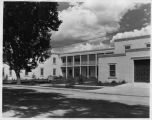 Municipal Building, Washington Avenue and Marcy Street, Santa Fe, New Mexico