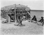 Navajo weavers, New Mexico