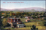 Birds-eye view of Santa Fe, New Mexico