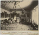 Palace of the Governors interior while occupied by Governor Prince, Santa Fe, New Mexico