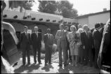 Visit of King and Queen of Spain, Palace of the Governors, Santa Fe, New Mexico