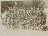 Buffalo soldiers of Troop H, 9th Cavalry, Fort Wingate, New Mexico