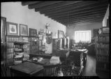 New Mexico Historical Society offices, Palace of the Governors, Santa Fe, New Mexico
