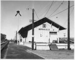Atchison, Topeka and Santa Fe Railroad depot, Bernalillo, New Mexico