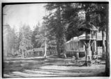 Cabins near Cloudcroft (?), New Mexico