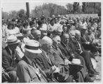 Stake driving ceremony, new Executive Legislative Building, Santa Fe, New Mexico, June 18, 1964
