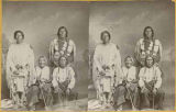 Group of Taos Pueblo Indians