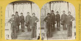 Children and ralatives of Whilrwind Soldier from Rosebud Reservation, Carlisle Indian Training...