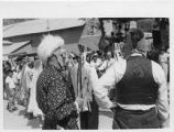 Matachina procession, Chimayo, New Mexico
