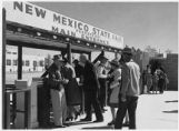 Front entrance to the New Mexico State Fair, Albuquerque, New Mexico
