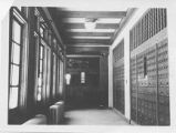 Interior of the United State Post Office, Santa Fe, New Mexico