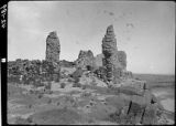 Ruins of old San Felipe mission church, New Mexico