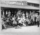 Bisbee (Arizona) Baseball Club at Cloudcroft Lodge, Cloudcroft, New Mexico