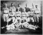 Baseball team hired by Gross-Kelly and Ilfeld Company, Las Vegas, New Mexico