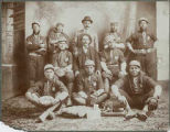 Mechanic's Baseball Team, J.S. Candelario manager, Santa Fe, New Mexico