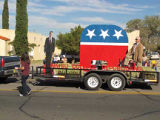 Float in the Whole Enchilada parade, Las Cruces, New Mexico