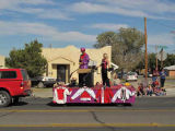Parade float, Whole Enchilada Festival, Las Cruces, New Mexico