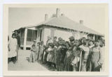 Group of children, Santo Domingo Pueblo, New Mexico