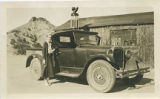 Freight agent Edith Warner at Otowi station, New Mexico