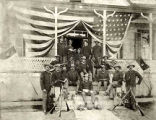 Non-Commissioned Officers Troop L, 9th Cavalry, Fort Wingate, New Mexico