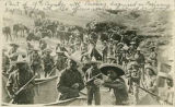 Part of 10th Cavalry disguised as Mexicans by wearing captured equipment, Villa Pershing...