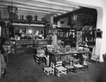 Interior view of Indian Room (Curio Shop), La Fonda Hotel, Santa Fe, New Mexico