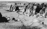 Corrals among rocks, Acoma Pueblo, New Mexico