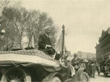 Governor Octaviano A. Larrazolo in American Day Parade, Santa Fe, New Mexico