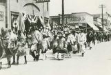 Zuni Indians in Gallup Ceremonial parade, Gallup, New Mexico