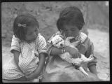 Unidentified children, Acoma Pueblo, New Mexico