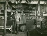 Interior of Toadlena trading post, New Mexico