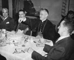 Archbishop Edwin Byrne at undentified event, Santa Fe, New Mexico